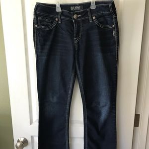 Silver Suki Slim Bootcut Jeans 30x31